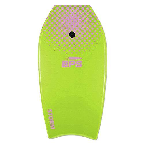 BPS 37' Bodyboard - Light Green, Purple