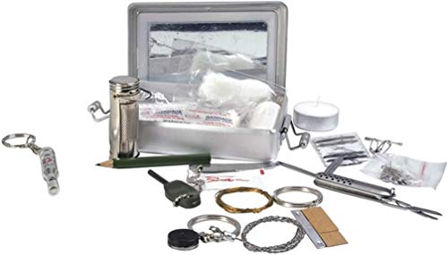 Image of Mil-Tec Survival Kit Alu Box