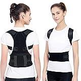 Magnetic Therapy Posture Support Back Brace, Adjustable Posture Humpback Corrector Brace Straighten and Correct Posture Upper Shoulder Waist Lumbar Support Belt Relieves Neck Back Spine Pain(L)