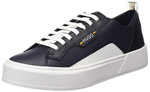 Hugo Volcano_Tenn_MX, Zapatillas para Hombre, Azul (Dark Blue 401), 43 EU