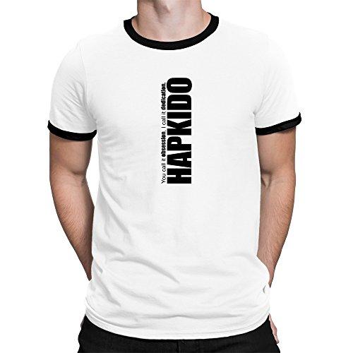 Teeburon Hapkido Dedication Hapkido Camiseta Ringer