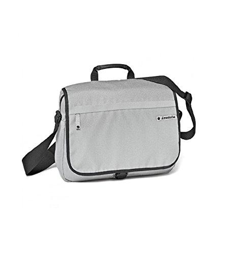 Invicta Shoulder Bag Umhängetasche, 36 cm, 2 liters, Grau (Grigio)