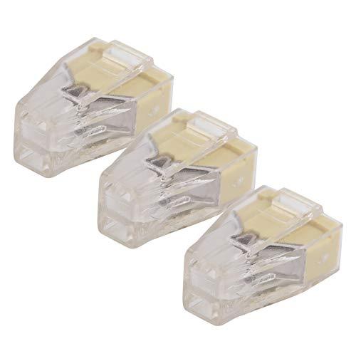 Conductor de cobre rojo PCT 100 piezas Bloque de terminales para cableado de interruptores Terminal de conexión rápida PCT(PCT-102)