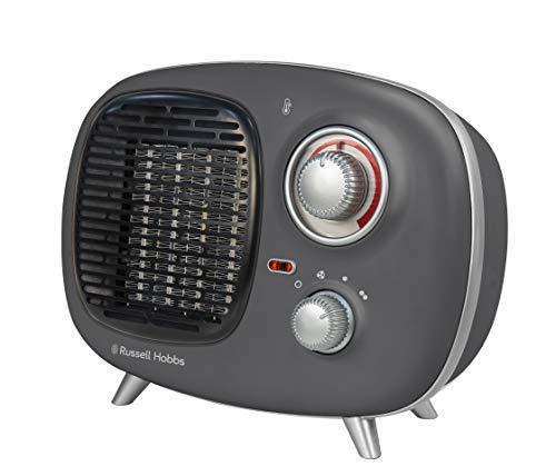 Russell Hobbs RHRETPTC2001G Grey 1.5KW Retro PTC Heater, 1500 W