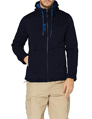 Lafuma - Cali Hoodie M - Fleecejacke für Herren - Warmes und atmungsaktives Material - Wandern, Trekking, Lifestyle - Blau