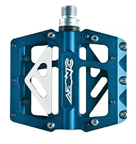 Azonic Pedale MTB 420 Flat blau