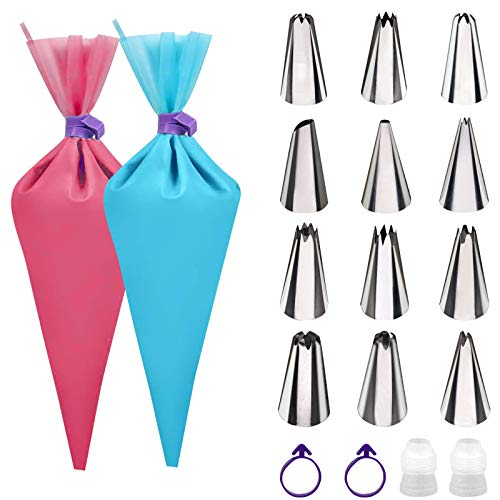 $5.85 Piping Bags and Tips Set Use promo code: L8ULRVNX There is a quantity limit of 5
