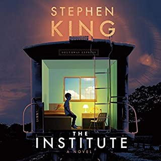 The Institute audiobook cover art