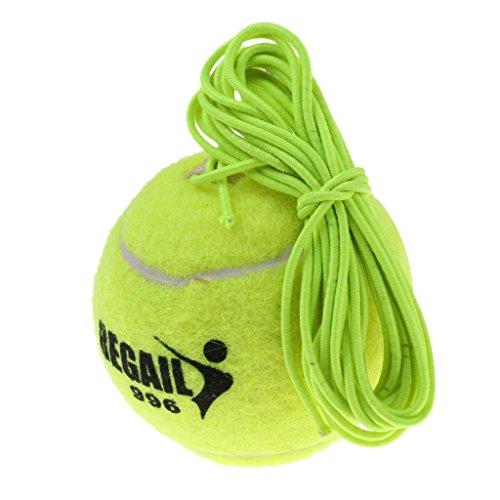perfk Tennisball mit Schnur, Grün