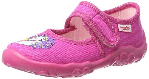 Superfit Mädchen BONNY Niedrige Hausschuhe, Pink (Pink 63), 33 EU