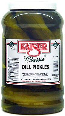 Kaiser Cheap sale Dill Pickles Gallon Jar Cheap bargain Ct 14-16