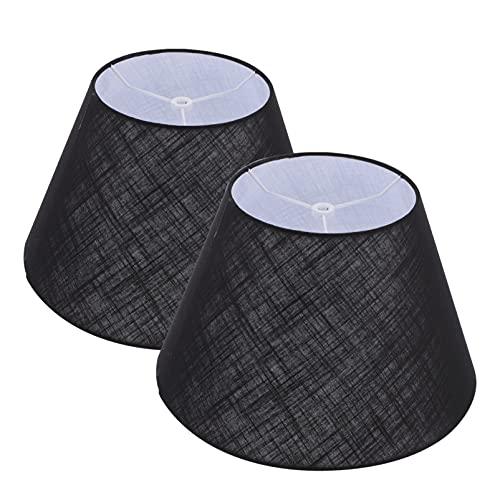 OSALADI 2 Piezas de Tela de Barril Pantalla de Lámpara de Pared Cubierta de Lámpara de Pared Cubierta de Polvo Pantalla para Lámpara de Mesa Luz de Suelo 12. 79X7! 87 Pulgadas