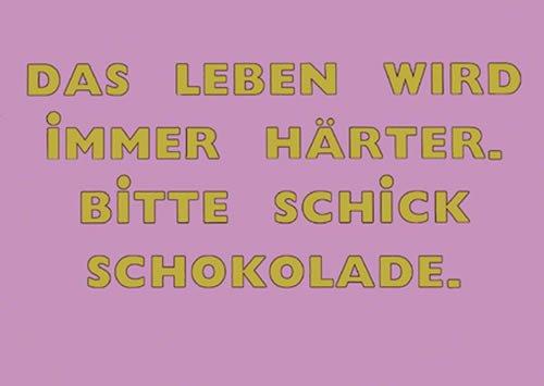 Postkarte A6 +++ LUSTIG von modern times +++ CHIC CHOC +++ BIZARR