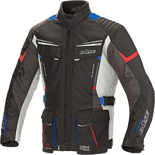 Büse Lago Pro Motorrad Textiljacke Schwarz/Blau/Rot 3XL