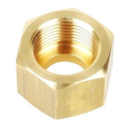 Anschlussmutter Überwurfmutter für Stickstoff Druckminderer 200 bar W 24,32 x 1/14