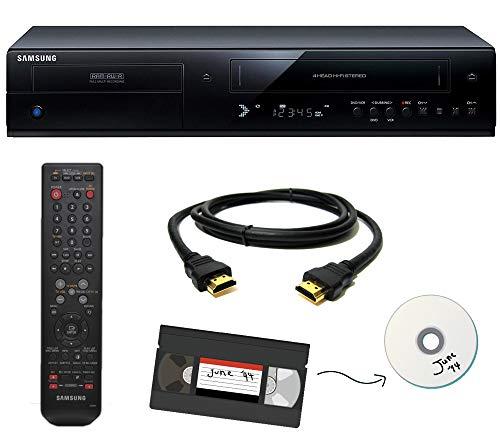 Samsung VHS to DVD Recorder VCR Combo w/ Remote, HDMI