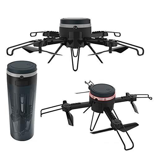 S-Eagle Mini Control Remoto De Cuatro Ejes Drone Plegable Aislamiento Taza WiFi C/720P Ultra Claro Cámara/Negro Creativo