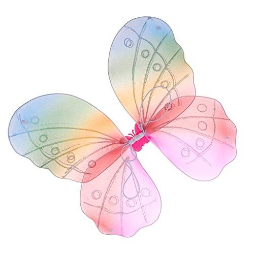 Alas de hada ligeras, alas de mariposa, alas de ángel para fiestas de carnaval y cosplay