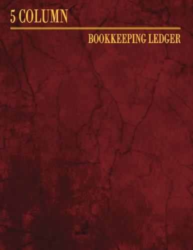 5 Column Bookkeeping Ledger