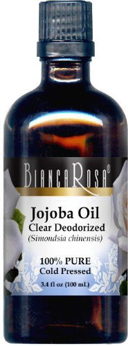 Best Prices! Jojoba Oil, Clear Deodorized - 100% Pure, Cold Pressed (3.40 fl oz, ZIN: 428138) - 3 Pa...