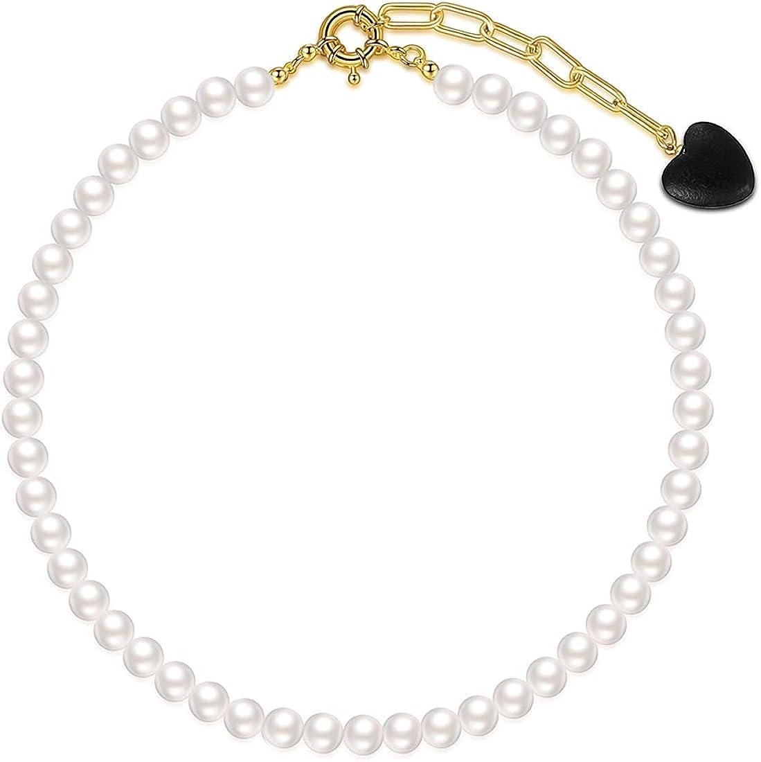 ABOJOY Dainty Gold Layered Choker Necklace, Pendant Handmade Arrow Bar Layering Long Necklace for Women,Girls