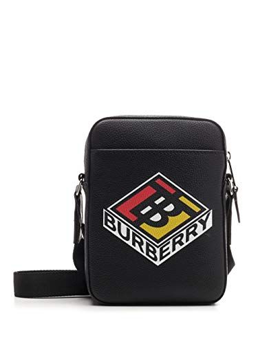 Burberry Luxury Fashion 8022318 - Bolso para hombre, color negro