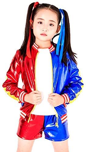 Costume Harley Suicide - Bambini - Carnevale - Halloween - Cosplay - Film - Idea Regalo per natale e compleanno - Bambine - Taglia M