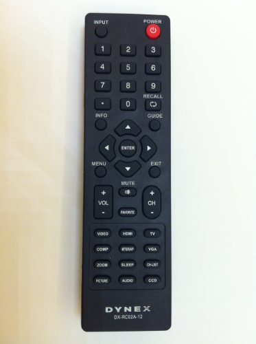 New DX-RC01A-12 DX-RC02A-12 DX-RC01A-13 LCD LED TV Remote for Almost All DYNEX Brand TV