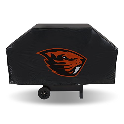 Rico Industries NCAA Grillabdeckung aus Vinyl, Unisex, NCAA Oregon State Beavers Unisex NCAA Economy Grill Cover, Orange, 68
