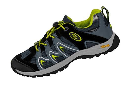 Bruetting Vision low Kids 421004, Chaussures de randonnée garçon - Bleu (Bleu-TR-E1-486), 36 EU