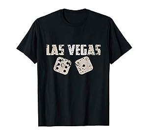 Las Vegas Souvenir Craps Dice Lucky 7 T-Shirt by Las Vegas Souvenir Craps Dice Lucky 7 Tee Shirt
