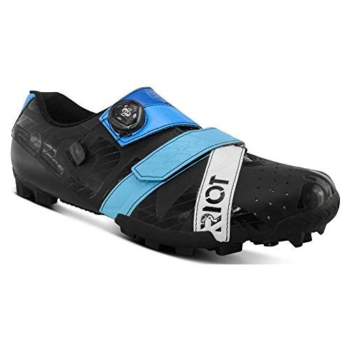 Bont RIOTMTB+, Zapatillas de Ciclismo de Carretera Unisex Adulto, Multicolor (B21 Black/Blue...