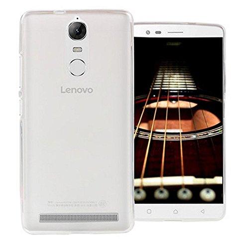 REY Funda Carcasa Gel Transparente para Lenovo K5 Note, Ultra Fina 0,33mm, Silicona TPU de Alta Resistencia y Flexibilidad