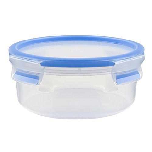 Tefal K3022312 - Masterseal Fresh - Boîte plastique de conservation alimentaire ronde - 0.85 L - Bleu