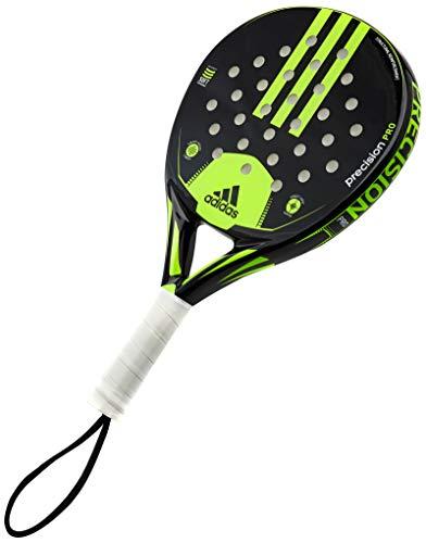 adidas Pala de pádel de precisión de vidrio de fibra profesional con raqueta de pádel de rendimiento suave Eva - Plataforma de tenis
