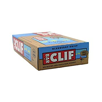 Clif Bars Cliff Bar Organic Blueberry Crisp Blueberry Crisp  Case of 12  2.4 Oz by Clif Bars