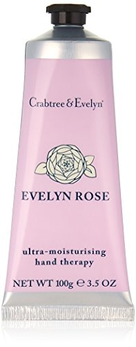 Crabtree & Evelyn Evelyn Rose ultra-moisturizing hand therapy, 1er Pack (1 x 100 g)