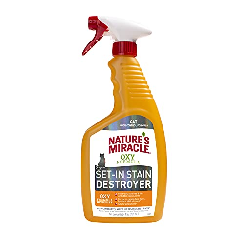 Nature's Miracle Oxy Formula Set-In Stain Destroyer, Orange Scent