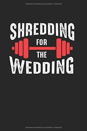 Notizbuch: Hochzeit Fitness Gewichte Figur Training Geschenk 120 Seiten, 6X9 (Ca. A5), Karomuster