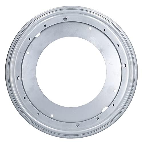 GAESHOW KY-617 12-Zoll-Runddrehteller-Lagerplatten-Hardware für Vitrinen-Kleiderschrank-Möbel Metall