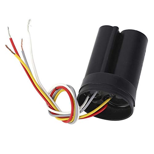 QINGRUI Ersatzteile 450V Motor Run Kondensator 12uf + 5uf Dual-Startkondensator for Waschmaschine/selbstansaugende Pumpe Zubehör stark und robust