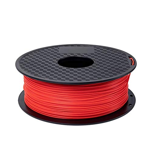 XIAOFANG 3D Printer 1.75mm TPU Flexible Filament 1KG/Roll 3D Printing Material 5 Colors Filament Plastic ECO-Friendly (Color : Red)