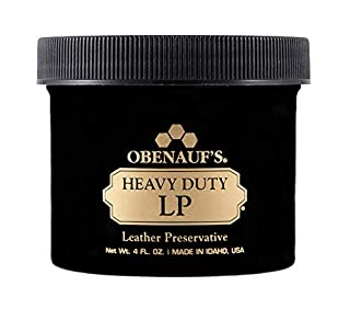 Obenauf's Heavy Duty LP Leather Conditioner Natural Oil Beeswax Formula (4oz) (B003SKCARK) | Amazon price tracker / tracking, Amazon price history charts, Amazon price watches, Amazon price drop alerts