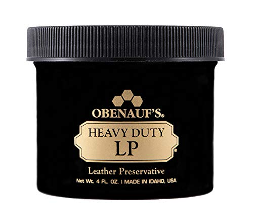 Obenauf's Heavy Duty LP - Preserves and Protects Leather - Great for Boots and More - 4 oz