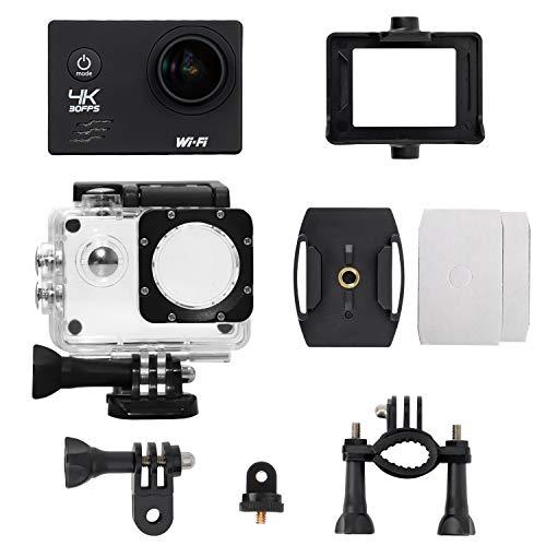 Action Hero 4K Camera - Underwater Waterproof Camera | Action Camera | 170° Wide Angle Video Camera...