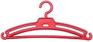 Folk Artesanía Lote 50 Perchas para Nancy Famosa en Color Rojo, Azul, Amarillo, Blanco, Rosa y Verde. Válido para Sintra, Noa, Barbie