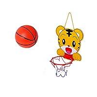バスケットゴール 壁掛け 室内 バスケットゴール 家庭用 壁 子供用 ドア掛け ボール付 空気入れ付 2種類 虎 【BELSUS正規品】