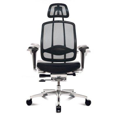 Wagner Stühle Bürodrehstuhl Wagner AluMedic 10 - mit Armlehnen