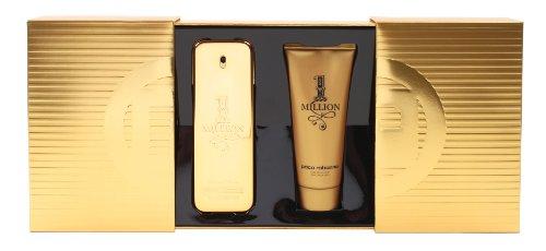 Paco Rabanne One Million Geschenkset homme / men, Eau de Toilette Vaporisateur / Spray 100 ml, Duschgel 100 ml, 1er Pack (1 x 200 ml)