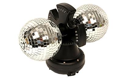 Duo boules à facettes rotatives 4